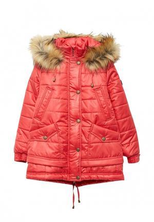 Куртка утепленная Saima. Цвет: красный