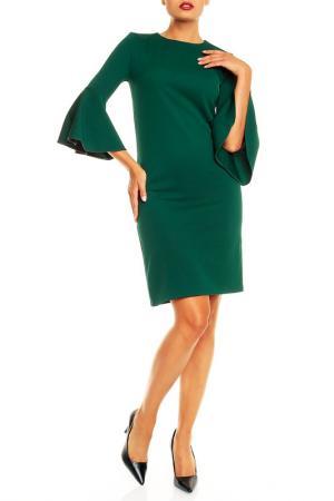 Платье Karen. Цвет: зеленый