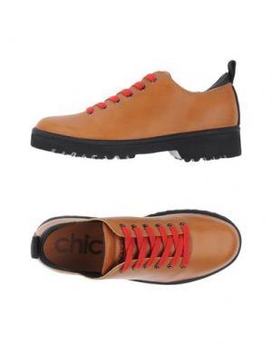 Обувь на шнурках PÀNCHIC. Цвет: коричневый