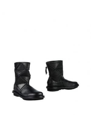 Полусапоги и высокие ботинки TRIPPEN. Цвет: черный