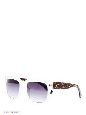 Солнцезащитные очки Selena. Цвет: белый, коричневый