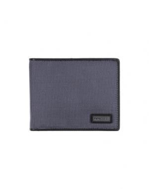 Бумажник MOMO DESIGN. Цвет: свинцово-серый