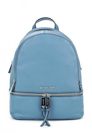 Рюкзак Michael Kors. Цвет: голубой