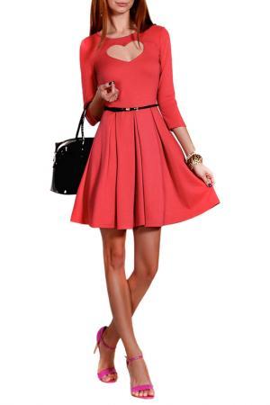 Платье FRANCESCA LUCINI. Цвет: лиловый
