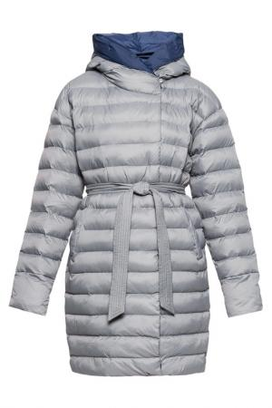 Пальто ODRI Mio. Цвет: серый, темно-синий