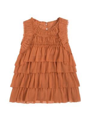 Блузка PEPE JEANS LONDON. Цвет: коричневый