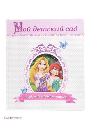 Disney. Фотоальбом. Мой детский сад. Принцессы Проф-Пресс. Цвет: розовый
