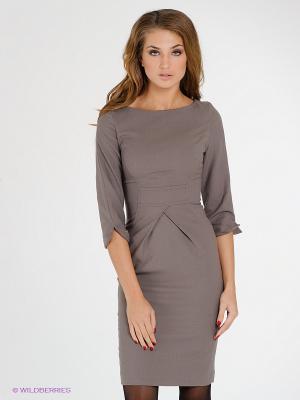 Платье IMAGO. Цвет: бежевый