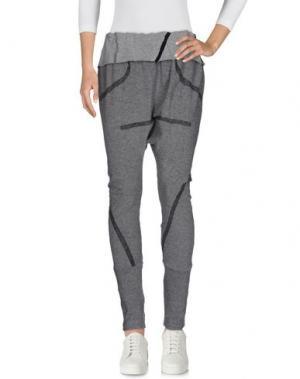 Повседневные брюки DEMOBAZA. Цвет: серый