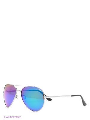 Солнцезащитные очки Legna. Цвет: серебристый, черный