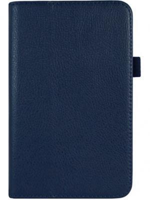 Обложка skinBOX standard для планшета Samsung T2100/2110. Выполнена из качественной экокожи.. Цвет: синий