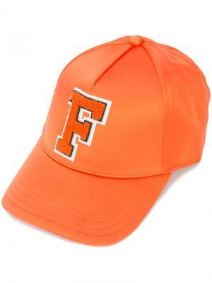 Бейсбольная кепка Monday Fenty X Puma. Цвет: жёлтый и оранжевый