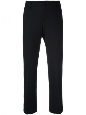 Укороченные брюки Atelier Archivio Alberto Biani. Цвет: чёрный