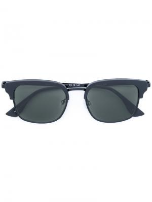 Солнцезащитные очки Katoch Le Specs. Цвет: чёрный