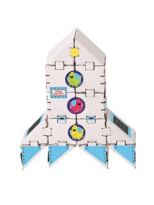 Конструктор Йохокуб. Ракета на Марс Yohocube. Цвет: бежевый