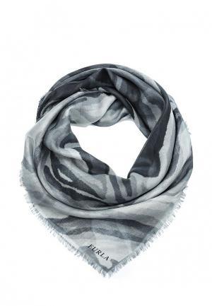 Платок Furla. Цвет: серый
