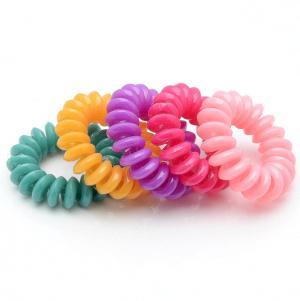 Комплект Резинок-Пружинок для волос 5 шт/уп, арт. РПВ-295 Бусики-Колечки. Цвет: разноцветный