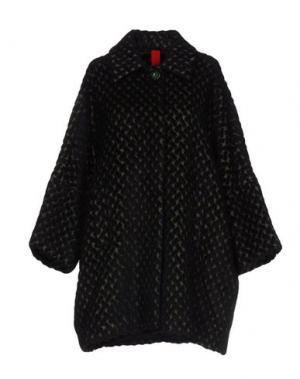 Пальто FEMME by MICHELE ROSSI. Цвет: темно-зеленый