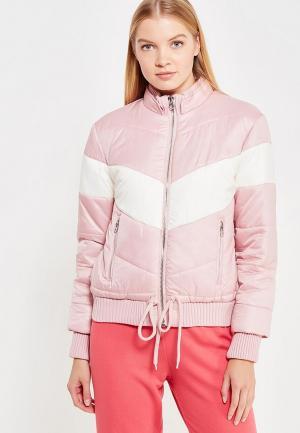 Куртка утепленная Juicy by Couture. Цвет: розовый