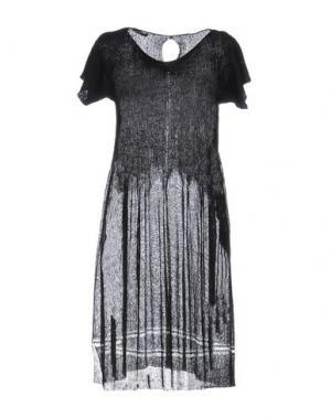 Короткое платье BP STUDIO. Цвет: черный