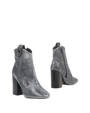 Полусапоги и высокие ботинки G.P. PER NOY BOLOGNA. Цвет: серый