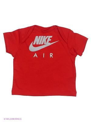 Футболка YA SS GFX TOP - AIR INF Nike. Цвет: красный