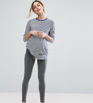 ASOS Maternity Леггинсы для беременных. Цвет: серый