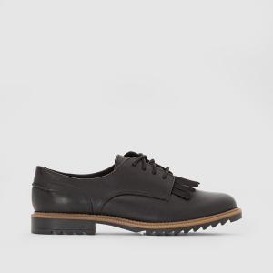Ботинки-дерби из кожи Griffin Mabel CLARKS. Цвет: черный