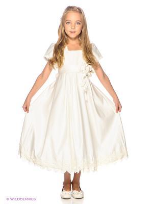Платье Vitacci. Цвет: молочный