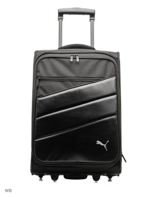 Чемодан Team Trolley Bag Puma. Цвет: черный