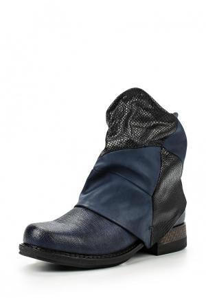 Ботинки Weide. Цвет: синий