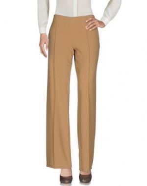 Повседневные брюки KATE. Цвет: верблюжий