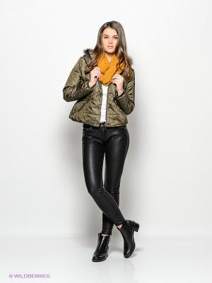 Куртка Ada Gatti. Цвет: оливковый