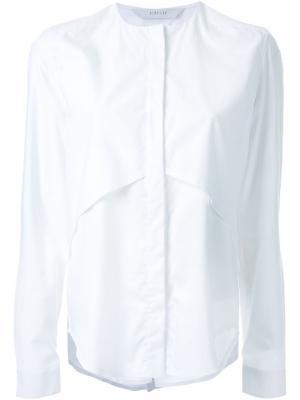 Рубашка Mobius Dion Lee. Цвет: белый