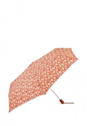 Зонт складной Fulton. Цвет: коралловый