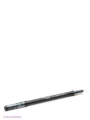 Карандаш для век гелевый Glamour Smoky Eye Pencil, № 201 Limoni. Цвет: черный