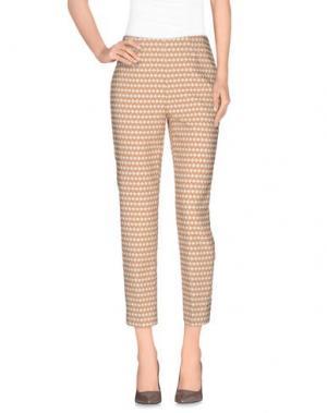 Повседневные брюки ROOM 52. Цвет: светло-коричневый
