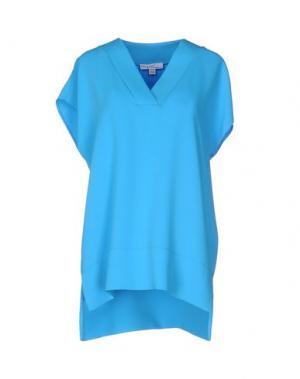 Блузка PIU' &. Цвет: лазурный