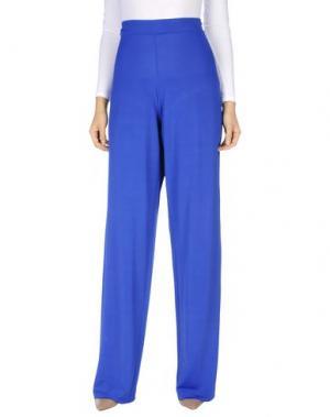 Повседневные брюки SEKLI. Цвет: ярко-синий