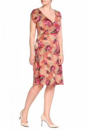 Платье LOLA PALTINGER. Цвет: цветной