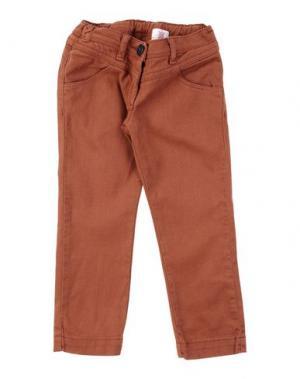 Джинсовые брюки MAURO GRIFONI KIDS. Цвет: кирпично-красный