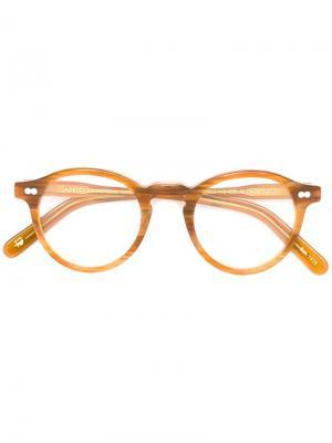 Очки Miltzen Moscot. Цвет: жёлтый и оранжевый