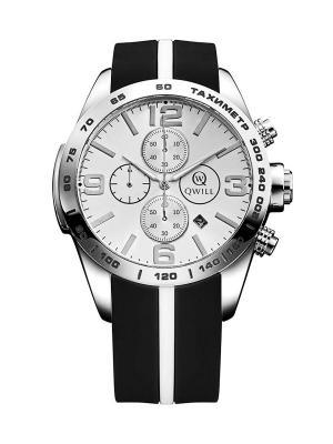 Часы ювелирные коллекция Q-Sport QWILL. Цвет: белый