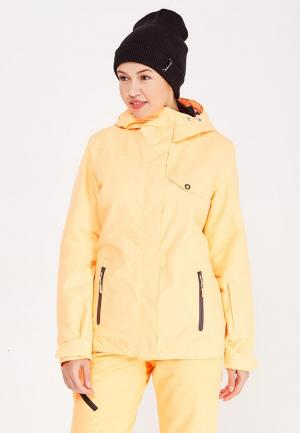 Куртка горнолыжная Icepeak. Цвет: оранжевый