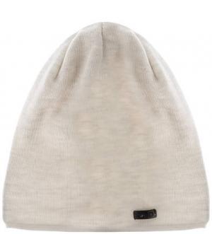 Шерстяная шапка молочного цвета Capo. Цвет: молочный