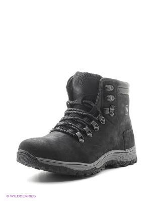 Ботинки Kakadu. Цвет: темно-серый