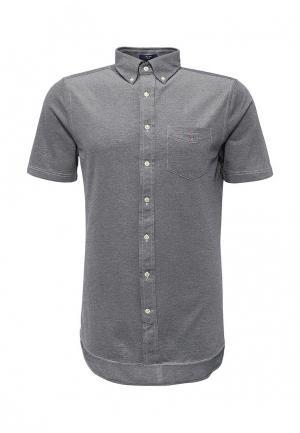 Рубашка Gant. Цвет: серый