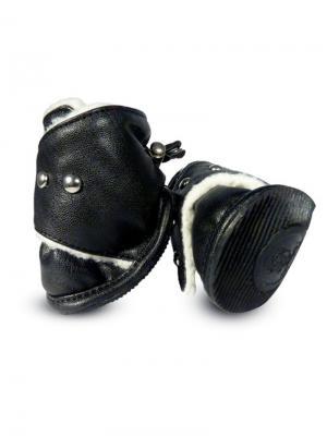 Ботинки для собак TRIOL. Цвет: черный