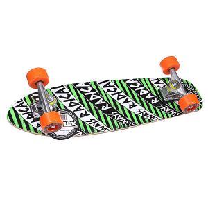 Скейт мини круизер  Always Radical Cruiser Green 27.5 (69.9 см) Z-Flex. Цвет: черный,зеленый,белый