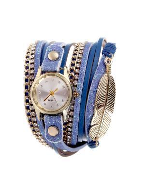 Браслет-часы Olere. Цвет: золотистый, синий, фиолетовый